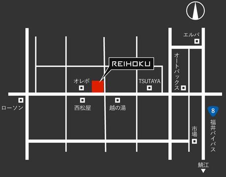 REIHOKIU地図